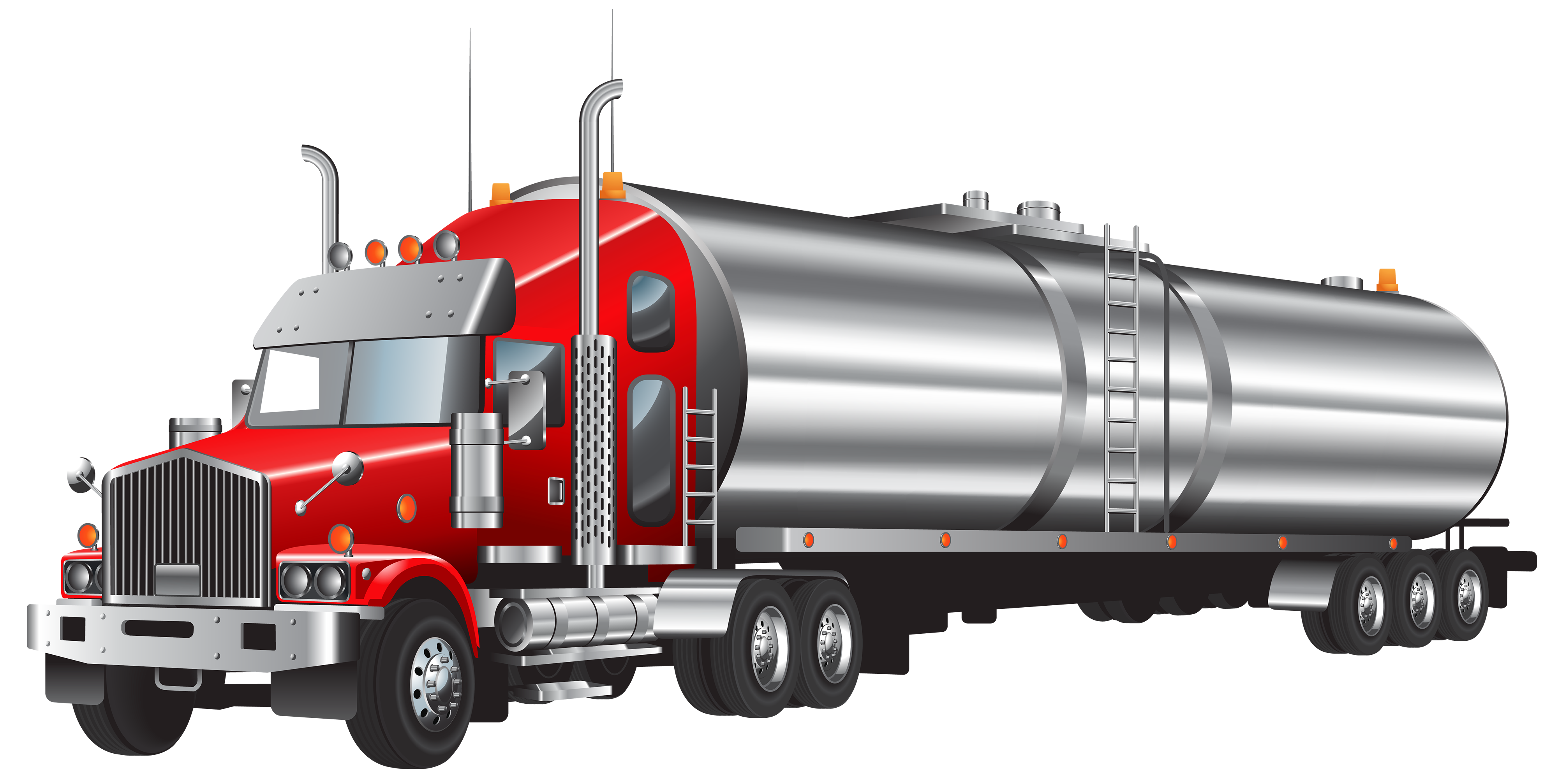 Tank Truck PNG Clipart.