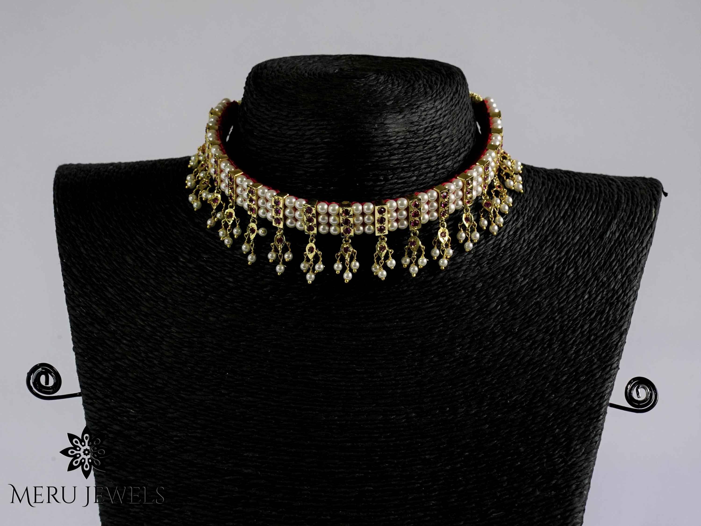 Maharashtrian Choker Necklace.