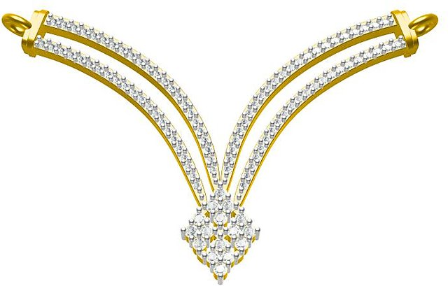Sakshi Jewels 2.69 Gram 18K Gold 0.38 Carat VVS.