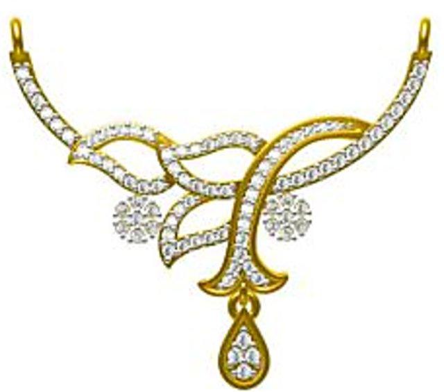 Buy Sakshi Jewels 2.29 Gram 18K Gold 0.41 Carat VVS.