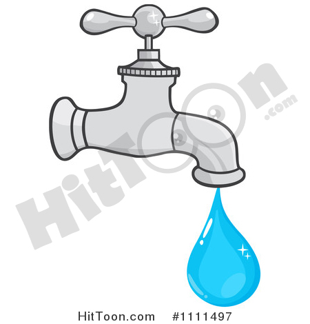 Tap Water Clipart #1.