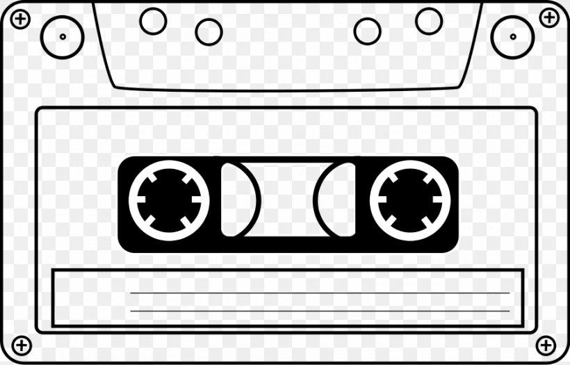 Compact Cassette Tape Recorder Videotape Clip Art, PNG.