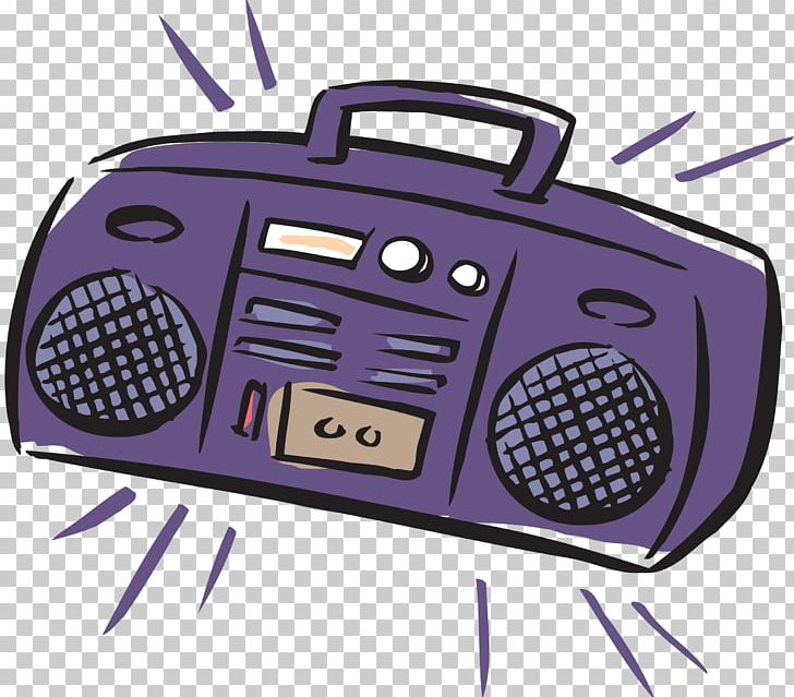 Tape Recorder Drawing Music Sound Compact Cassette PNG.