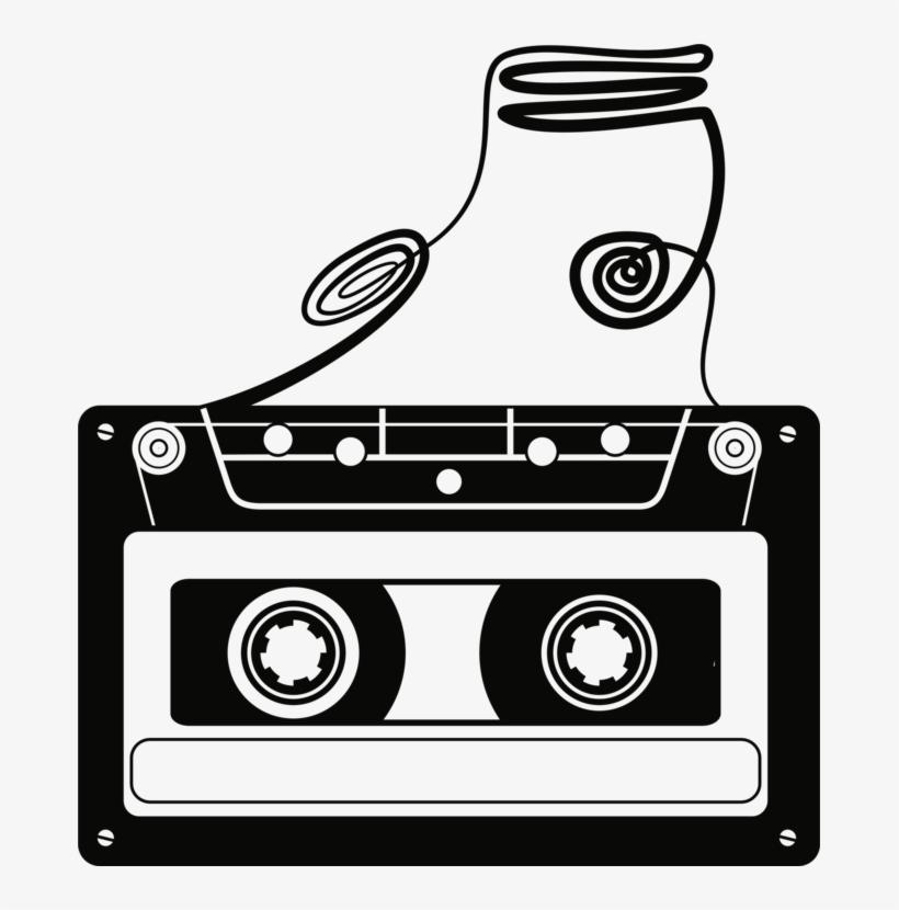 Compact Cassette Magnetic Tape Tape Recorder Cassette.