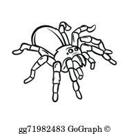 Tarantula Clip Art.