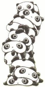 All Cliparts: Tare Panda Clipart.