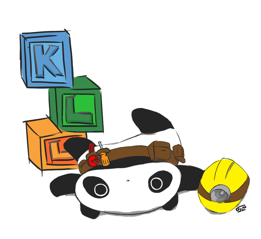 Tare Panda Construction Worker by Zlu5hy on Clipart library.