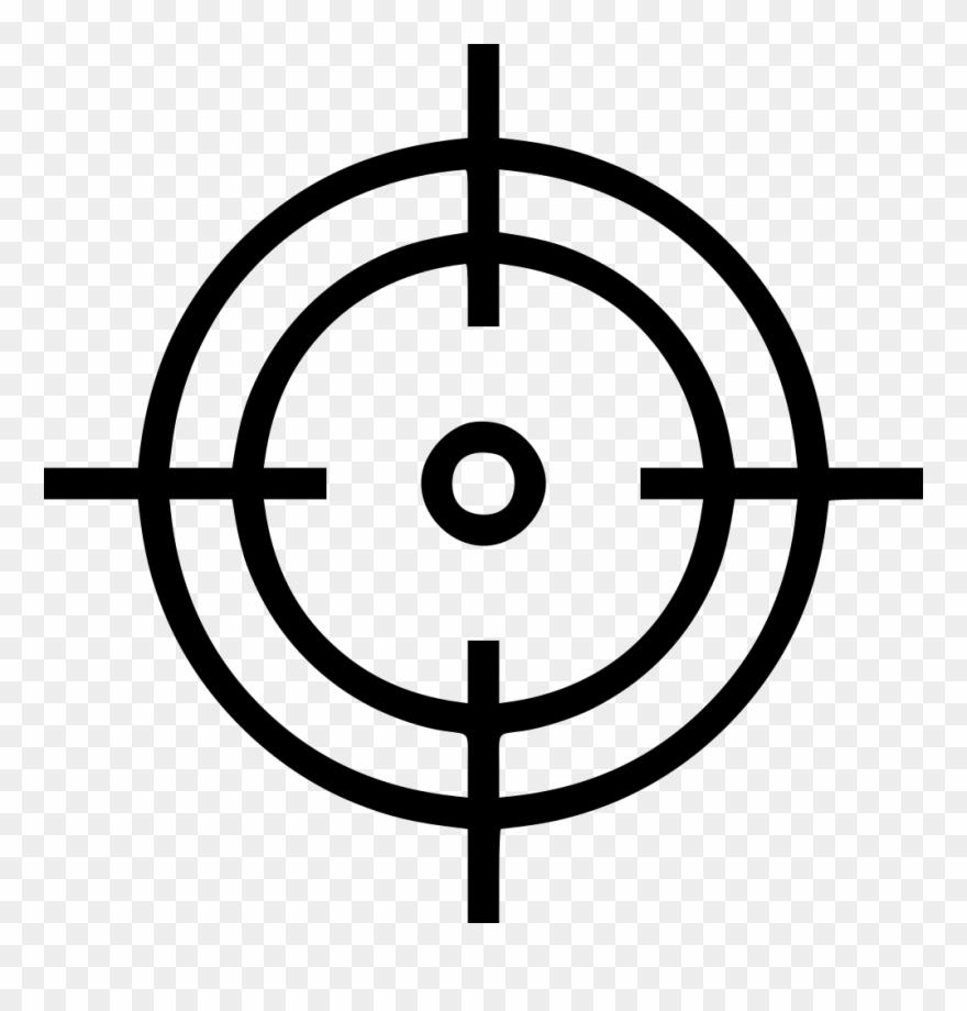 Crosshair Aim Shoot Target.