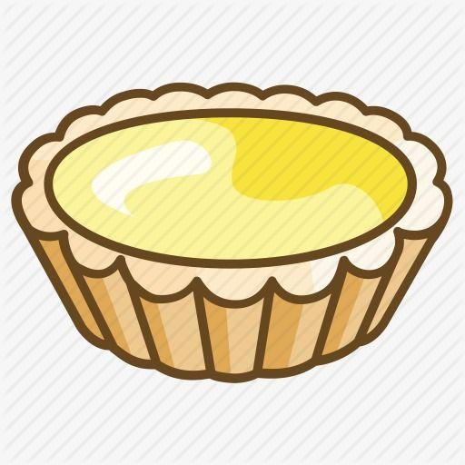 Cartoon Egg Tarts, Cartoon, Egg Tart, Dessert PNG.