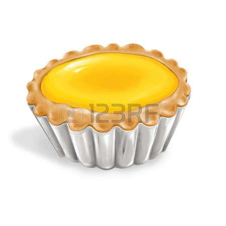 Egg Tart Clipart.