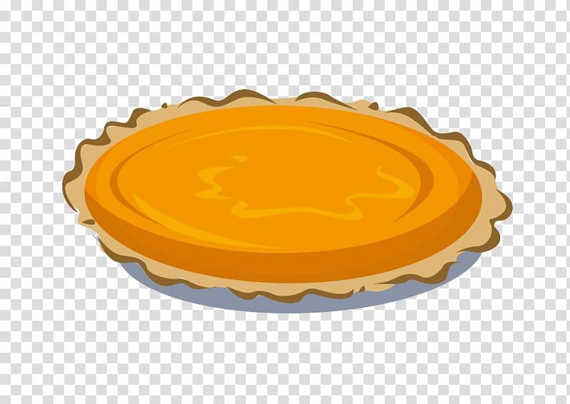 Pumpkin pie Egg tart, pizza transparent background PNG.