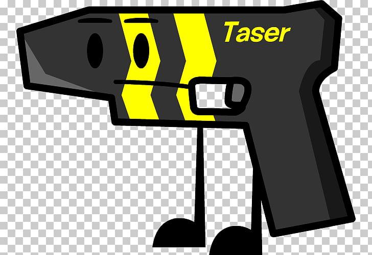 Electroshock weapon Taser , taser PNG clipart.