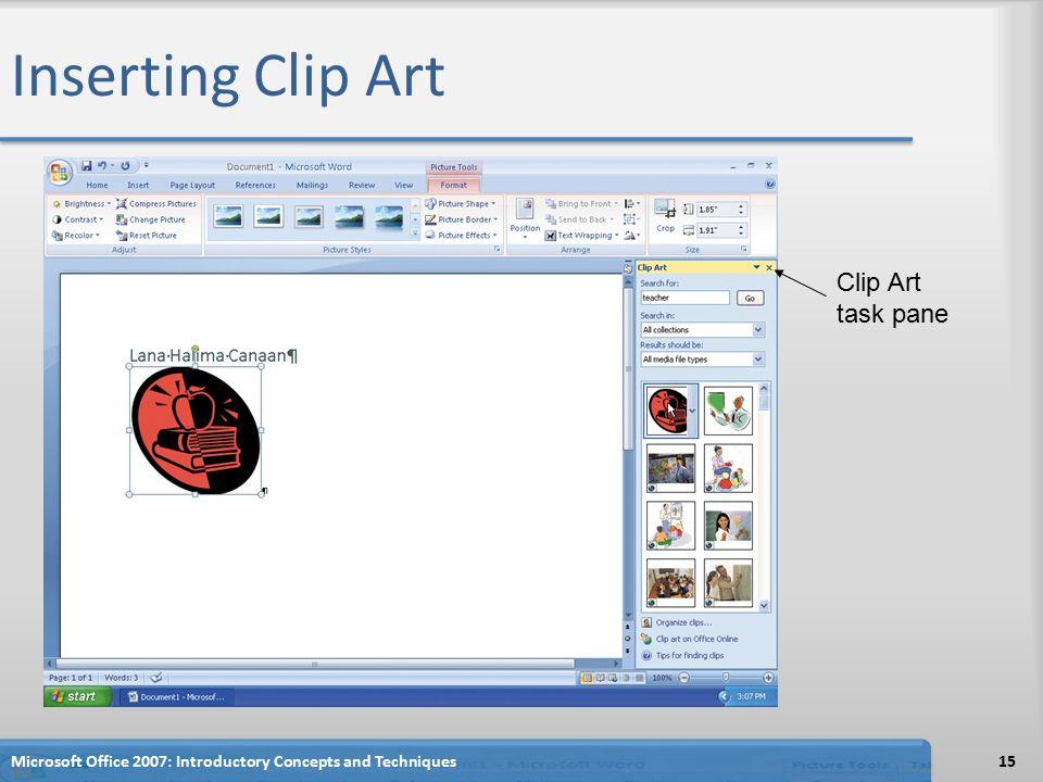 Clip Art Task Pane Powerpoint 2010.