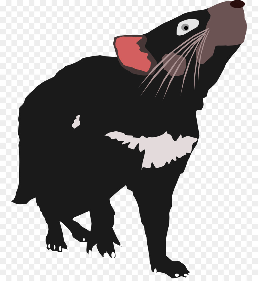 Tasmanian Devil Cartoon clipart.