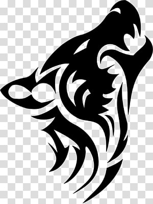 Wolf Tattoo PNG clipart images free download.