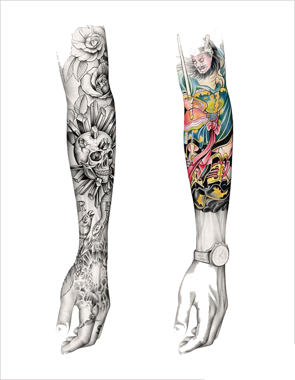 Tattoo Arm Sleeve Free Download Image Clipart Hand.