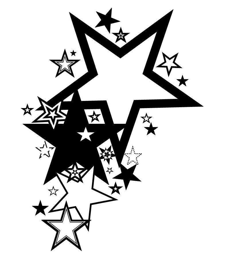 Free Heart Star Tattoo Designs, Download Free Clip Art, Free.
