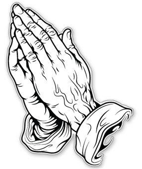 _clip art praying hands.