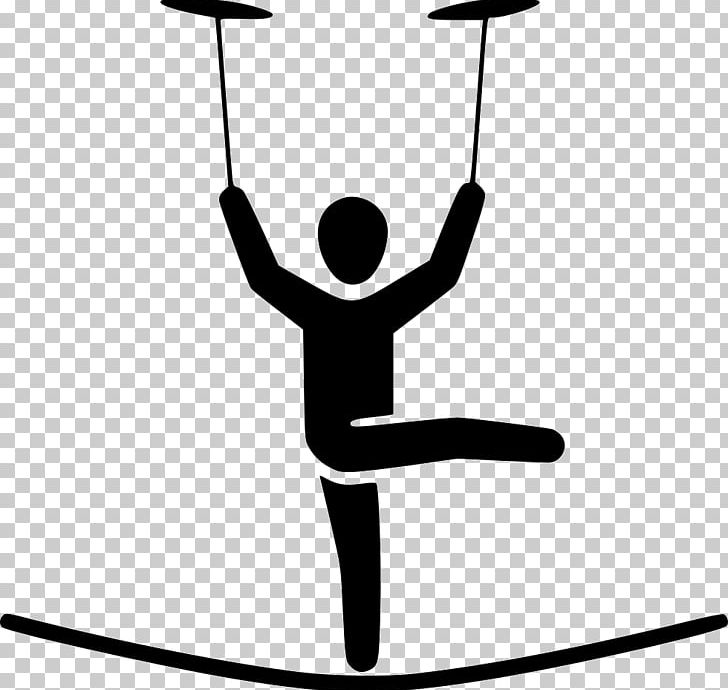 Tightrope Walking Circus Plate Spinning PNG, Clipart.