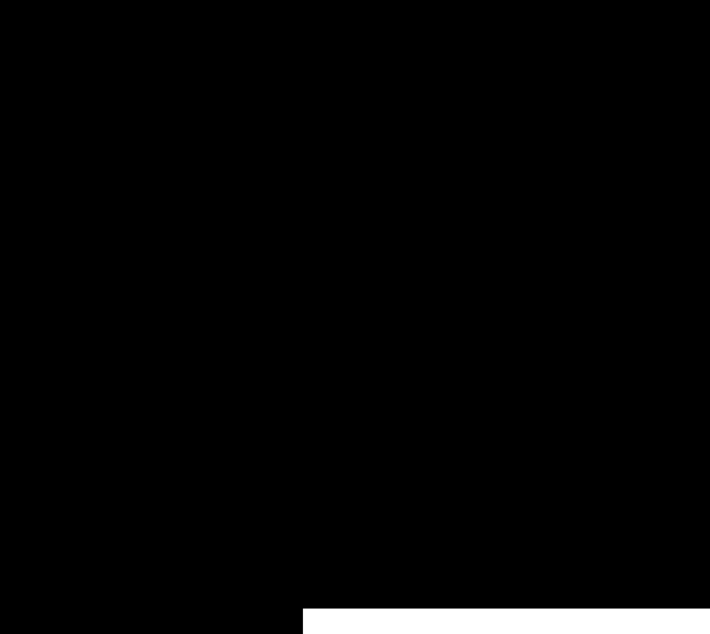 Taurus Bull Symbol Vector Clipart image.