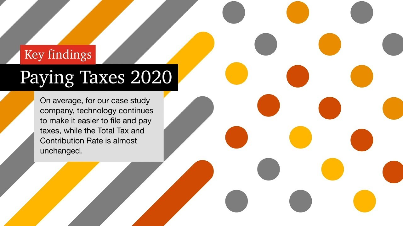Paying Taxes 2020: In.