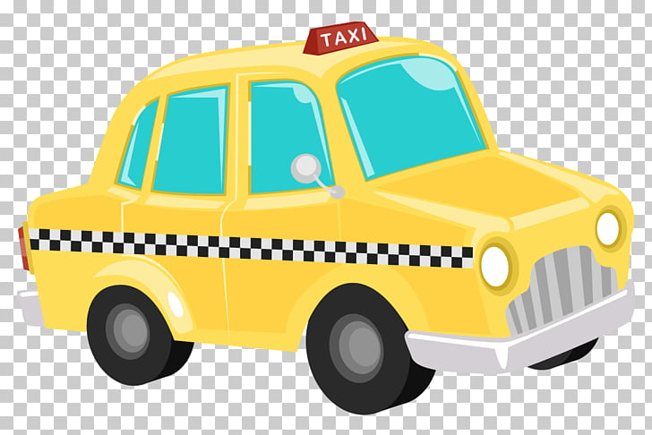 Taxi Yellow cab Car , taxi PNG clipart.