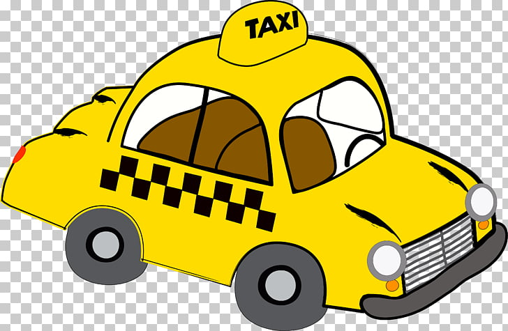 Taxi Yellow cab Stock photography , taxi PNG clipart.