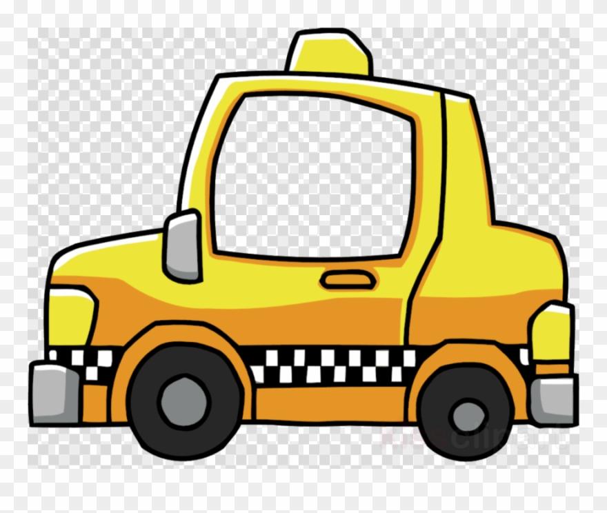 Cab Png Clipart Taxi Clip Art Transparent Png (#2469497.