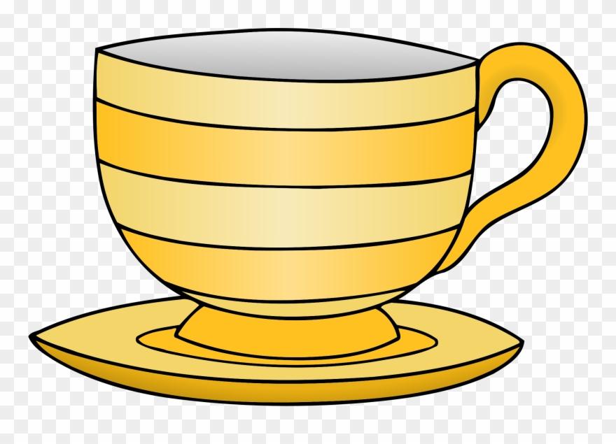 Teacup Clipart Crockery.