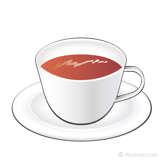 Free Tea Cup Clipart Image|Illustoon.