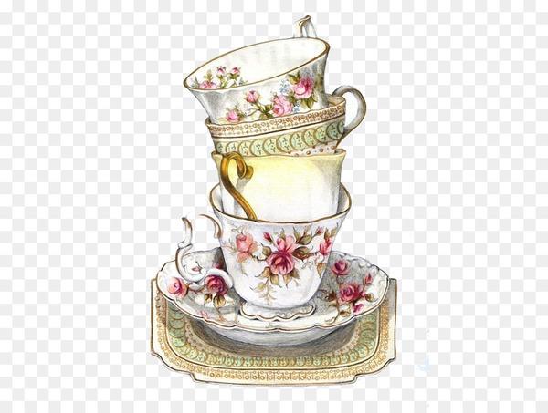 Teacup Coffee Saucer Clip art.