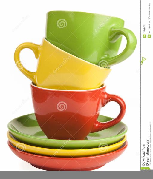 Free Clipart Tea Cups.
