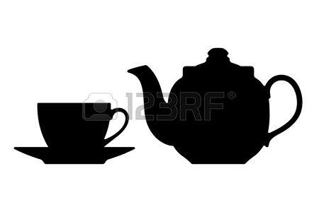 3,840 Silhouette Of Teacup Stock Illustrations, Cliparts And.