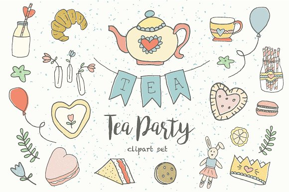 Tea party clipart images » Clipart Station.