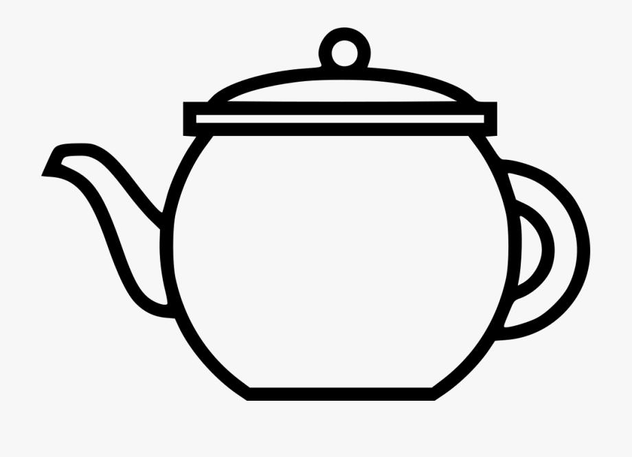 Open Teapot Png.