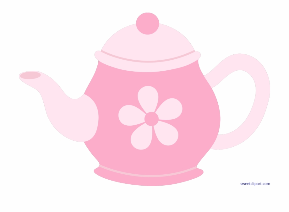 Pink Clipart Teapot Pink Tea Pot Cartoon.