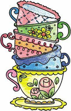 14 Best tea cup clip art images.