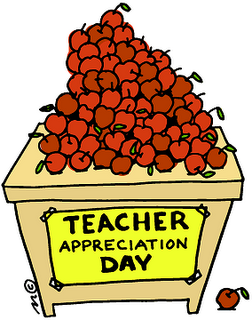 Teacher Appreciation Clipart.