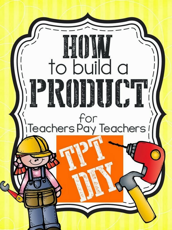 TPT DIY: How To Build A Credits Page.