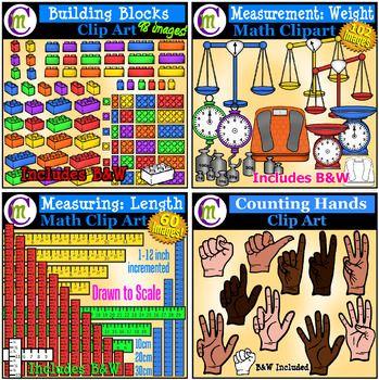 Math Clip Art MEGABUNDLE.