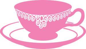 Pink Tea Cup Clipart.
