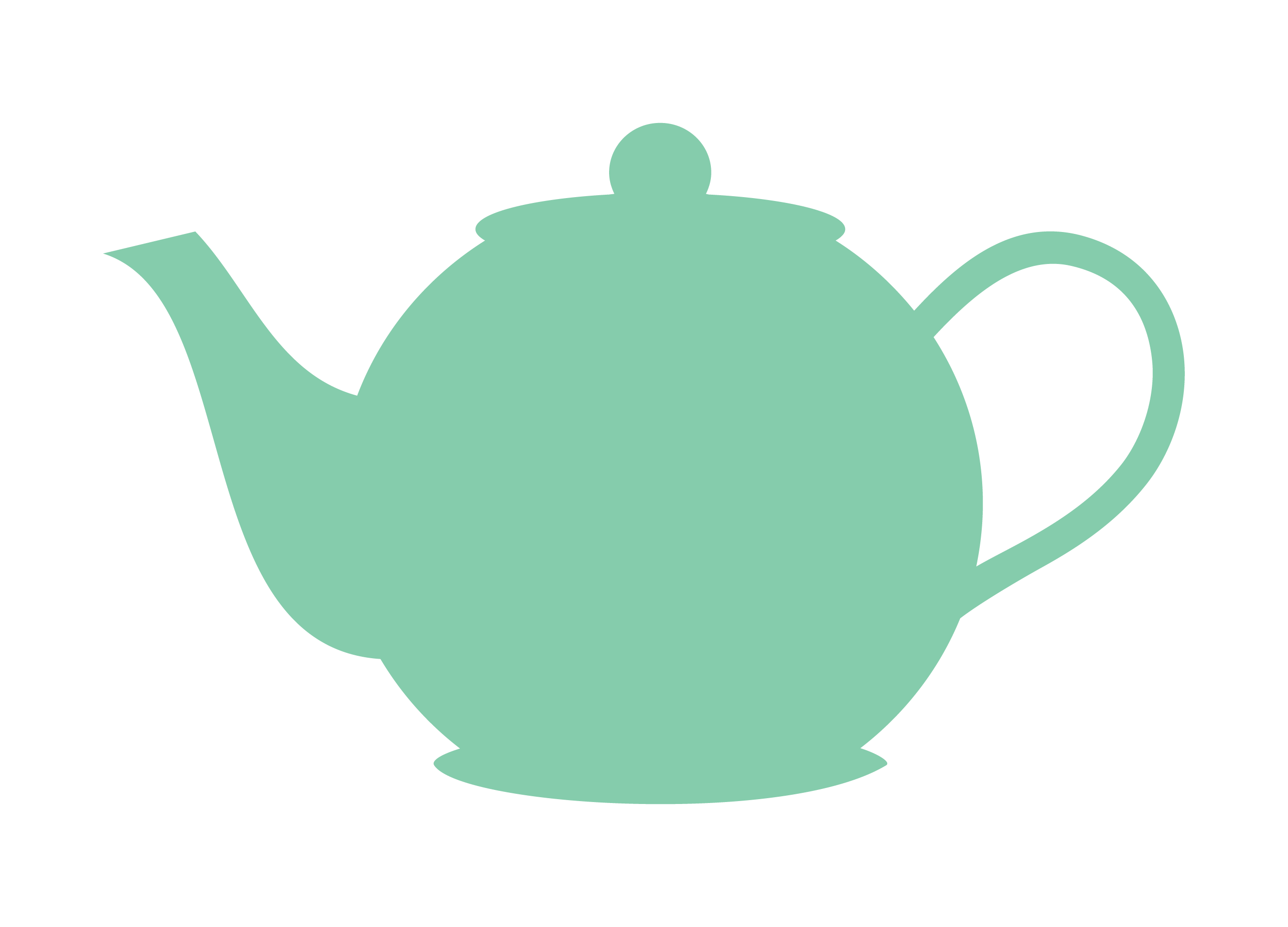 1129 Teapot free clipart.