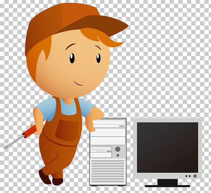 Computer Repair Technician Cartoon PNG, Clipart, Car Repair, City.
