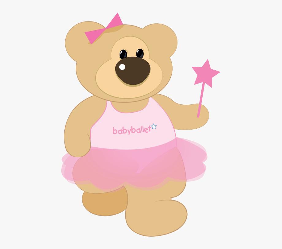 Ballerina Clipart Teddy Bear.