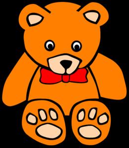 Teddy 2 Clip Art at Clker.com.
