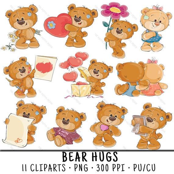 Teddy Bear Clip Art, Cute Bear Clipart, Teddy Bear Clipart, Teddy Bear PNG,  Cute Bear PNG, Cute Teddy Bear, Teddy Bear Scrapbook.