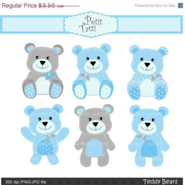 2019 Best Baby Teddy Bear Clip Art Images And Outfits.