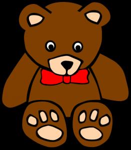 Teddy bear free cliparts.