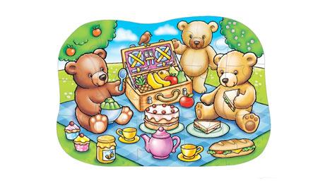 Teddy bear picnic clipart 2.