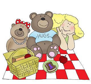 Free Dearie Dolls Digi Stamps: Teddy Bear Picnic.